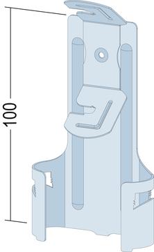PROTEKTORWERK Profil CD-Abhänger mit Feder Verzinkt