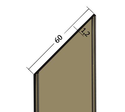 PROTEKTORWERK Fugenband 3333 60 mm PVC FBN 60 25 m Schwarz