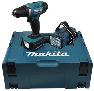 Makita Bohrschrauber Akku DDF343RYLJ 14,4 Volt 1,5 Ah inklusive Akku-Lampe