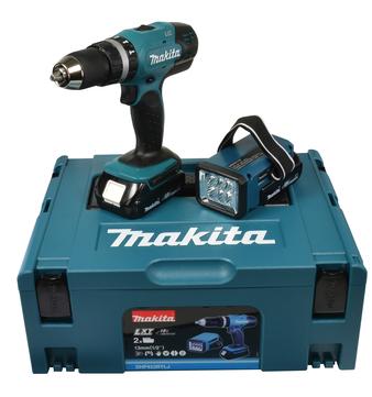 Makita Schlagbohrschrauber Akku DHP453RYLJ 18 Volt 1,5 Ah