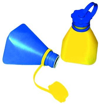 Masc Lötwasserflasche mit Auslaufstop Blau