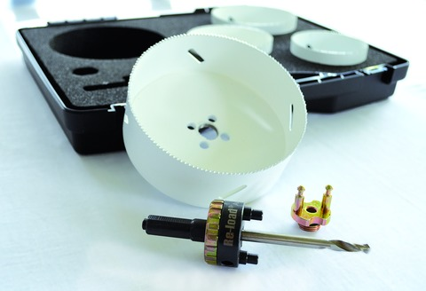Masc Lochsägen-Set LSS Set 1 HSS-Bi-Metall mit 2 Adaptern