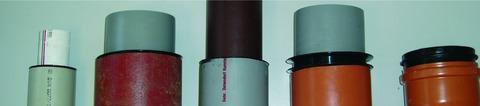 Masc Reduzierstück 125/155 mm Rückstaudichtung/Gummi
