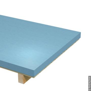 RHEINZINK Tafel 0,70 mm 1000x2000 mm prePatina 10,08 kg/Tafel Titanzink prePATINA blaugrau