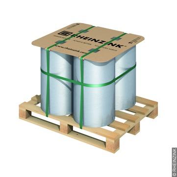 RHEINZINK Band 0,70/200mm 30kg 120kg je Palette 30m je Rolle Classic walzblank