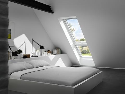 VELUX Fenster-Zusatzelemente unten GIU SK34 0070 114x92 cm Polyurethan Thermo Dachschräge Aluminium