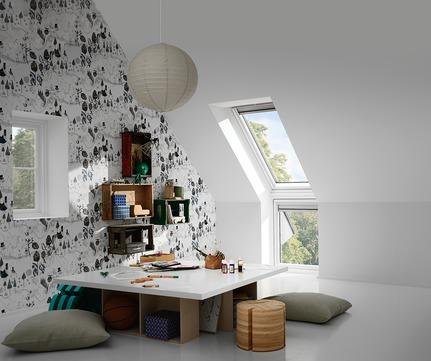VELUX Fenster-Zusatzelement unten VIU MK31 0162 78x60 cm Polyurethan Energy Schallschutz Wand