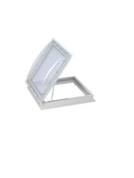 VELUX Flachdach-Ausstiegsfenster CXP 100100 0473Q 100x100 cm Öffnung Flachdach Fenster Kunststoff Isolierglas