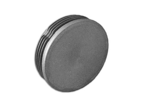 Flender PVC-Endkappe für 32 mm Rohr Schwarz