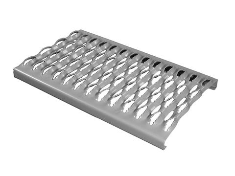 Flender Laufrost 420 mm/Dachtritt Feuerverzinkt