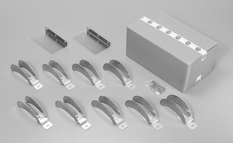 Flender Wandhalter-ConArc Giebel Beton Nr.070224 Grundpaket