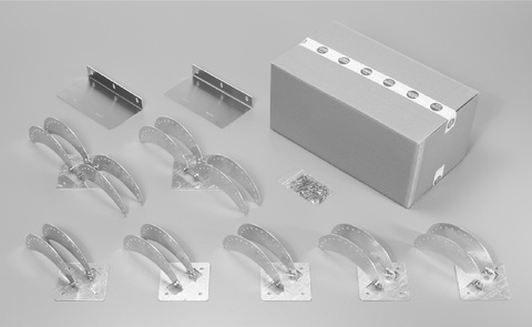 Flender Wandhalter-ConArc Giebel Fachwerk Nr.070225 Grundpaket