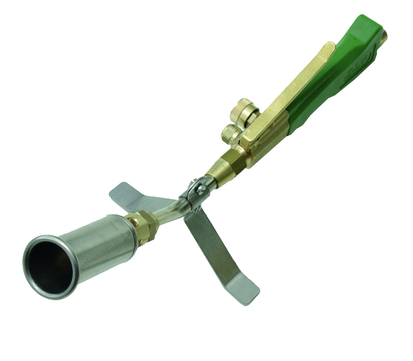Grün Propan Hochleistungs Brenner 35/400 mm Nr.01040000 für Kleinbrenner