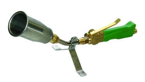 Grün Propan Hochleistungs Brenner 55/400 mm Nr.01100000 für Universalbrenner