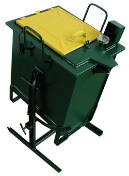 Grün Bitumen Kocher Kipp 50 Nr.02110000