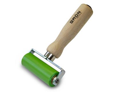 Grün Andrückrolle 90 mm Silikon Nr.15890000 Doppelrolle