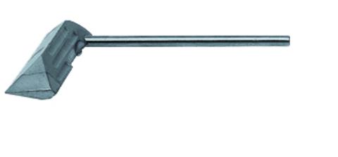 Grün Lötkolbenhammerstück 325 g Nr.25030000 mit Spezialbeschichtung Stahl