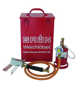 Grün Weichlöt Set Prop 1 mit Koffer Nr.25750000 mit 1,5 m HD-Schlauch