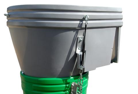 Grün Einfülltrichter Kunststoff Nr.40050000