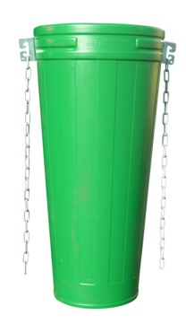 Grün Schuttrohr 1,2 m 57/40 Kunststoff Nr.40252000 Grün