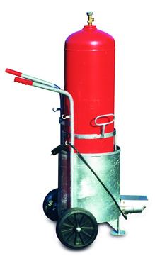 Grün Gasflasche Anwärmgerät Nr.50730000 1-Gasflasche 33/11 kg