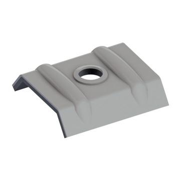 EJOT Orkankalotte 26-27 mm RAL9007 500St/Kar Graualuminium Alu