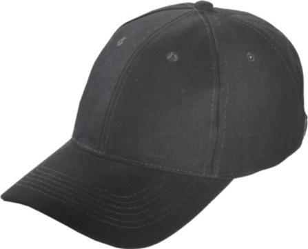 Job Cap ohne Stickemblem schwarz
