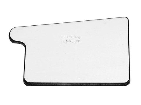 Zambelli 8-teilige Rinnenboden Kasten rechts 250 mm zum Löten Titanzink