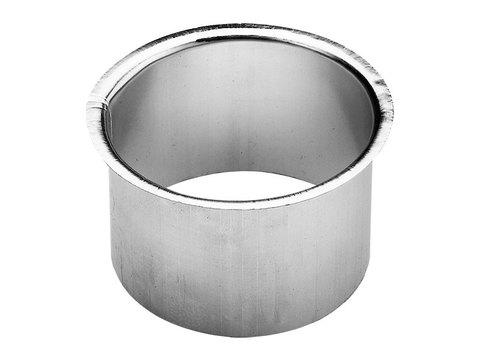 Zambelli 8-teilige Rinnenstutzen Kasten 80 mm gebördelt gebördelt zum Löten Kupfer
