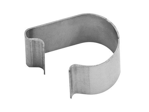 Zambelli Klammern für Rinnenwulst 12-18 mm Edelstahl
