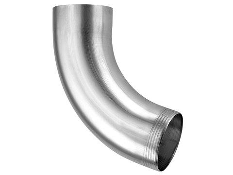 Zambelli 8-teilige Fallrohrbogen 72° 80 mm Meisterbogen Titanzink