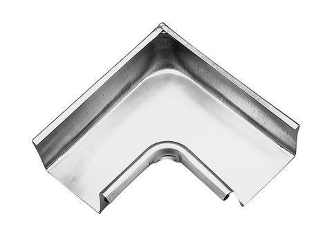 Zambelli 8-teilige Rinneninnenwinkel Kasten 0,65 mm gezogen 250/300 mm Meister Kupfer