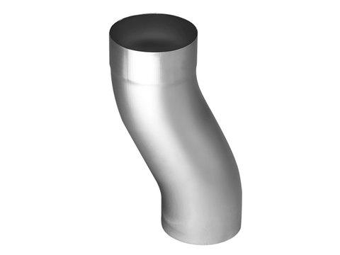 Zambelli 6-teilige Sockelknie 100 mm Titanzink