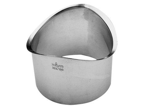 Zambelli 10-teilig Rinnenstutzen rund 60 mm gebördelt zum Löten Kupfer