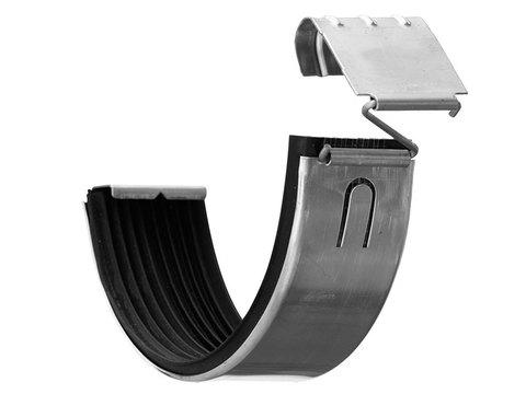 Zambelli 8-teilige Rinnenverbinder mit Sicherung Titanzink