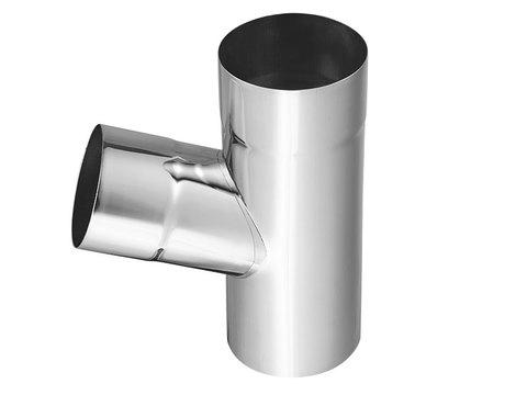 Zambelli 6-teilige Fallrohrabzweig 72° 100/100 mm Titanzink