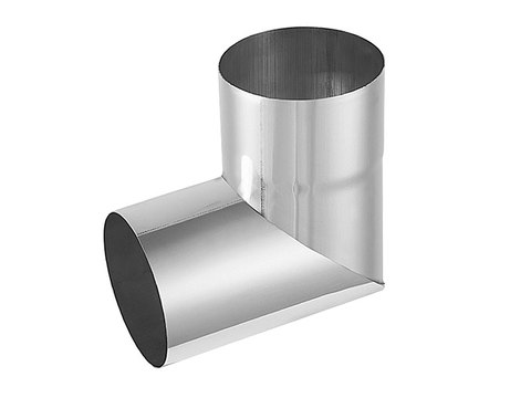 Zambelli 8-teilige Rohrwinkel 87° 80 mm Titanzink