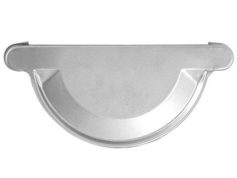 Zambelli 6-teilige Rinnenboden halbrund universal 333 mm zum Löten oder Kleben Stahl Ugitop