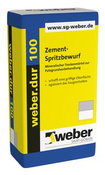 Saint-Gobain Weber weber. dur 100 30 kg mineralischer Trockenmörtel