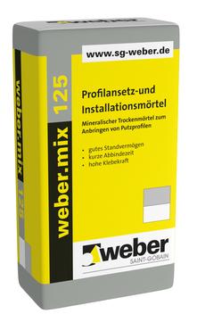 Saint-Gobain Weber weber. mix 125 30,0 kg mineralischer Trockenmörtel
