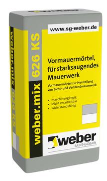 Saint-Gobain Weber weber. mix 626KS 40 kg M5 Naturgrau