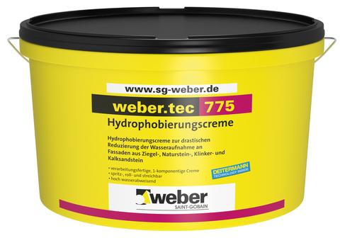 Saint-Gobain Weber weber. tec 775 20 l 1-komponentig 20 l Fassadencreme Weiß