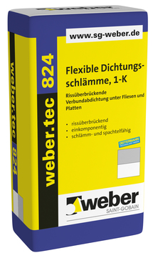 Saint-Gobain Weber weber.tec 824 20 kg ALT: Superflex D1 Grau