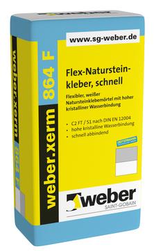 Saint-Gobain Weber weber. xerm 864 F 25 kg alt: Deitermann KM Flex und Fix Weiß