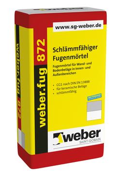 Saint-Gobain Weber weber. fug 872 25 kg alt: Cerinol F20 Zementgrau