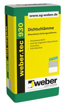 Saint-Gobain Weber weber. tec 930 25,0 kg Grau