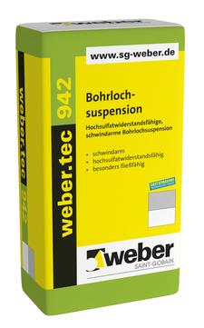 Saint-Gobain Weber weber.tec 942 20 kg ALT: Cerinol BSP Grau