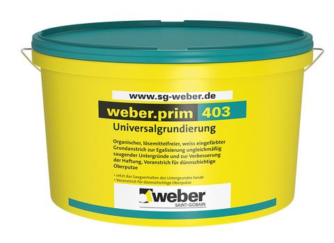 Saint-Gobain Weber weber. prim 403/2017 5,0 l Universalgrundierung