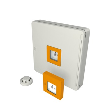 VELUX Elektro-Zubehör KFX 214 EU Rauch- und Wärmeabzug Steusystem Orange