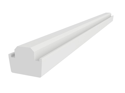 VELUX Kombi-Eindeckrahmen EKY W27 2000 Kombi-Hilfssparren weiß lackiert, NCS 0500 275 cm